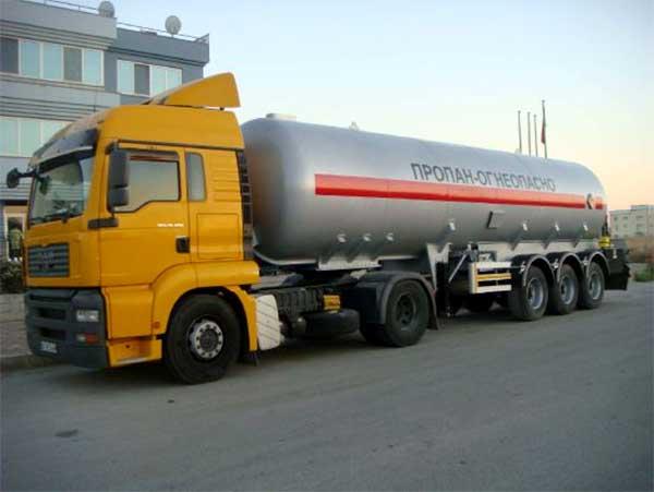 Газовоз от 30м3 до 40м3 Howo, Shacman